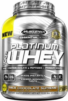 8. MuscleTech Platinum 100% Whey