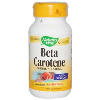 3. Natures Way Beta Carotene