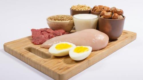 food rich in amino acids
