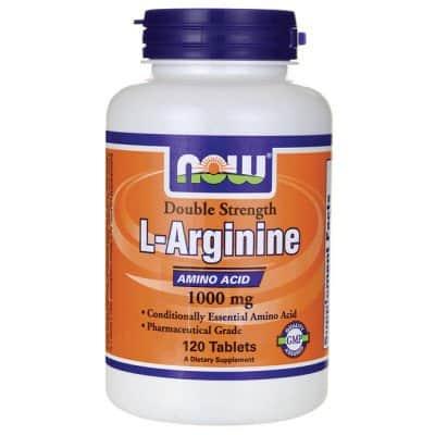 8. Now Foods L-Arginine