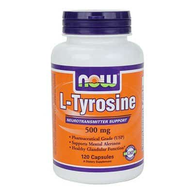 10. Now Foods L-Tyrosine
