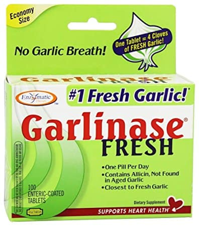 6. Garlinase Fresh Enteric