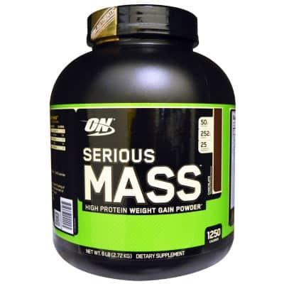 1. Serious Mass from Optimum Nutrition