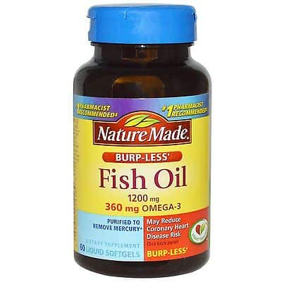 Best fish oil supplements reviewed rated in 2018 thefitbay for Fish oil and gout