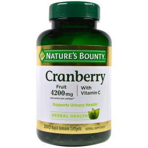 10. Nature's Bounty Cranberry
