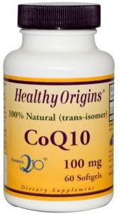 3. Healthy Origins, CoQ10 Gels ( Kaneka Q10 ), 100 mg