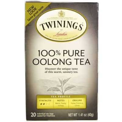 10. Twinings 100% Pure