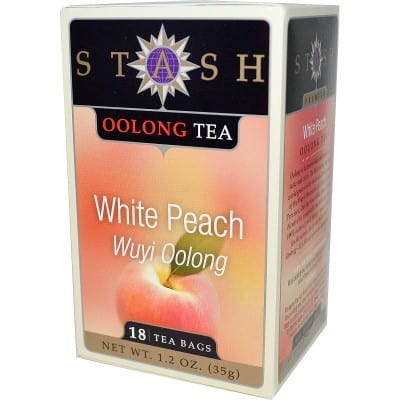2. Stash with White Peach
