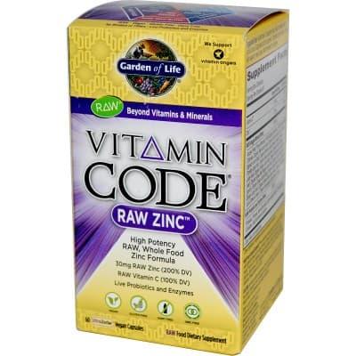 9. Garden of Life Vitamin Code