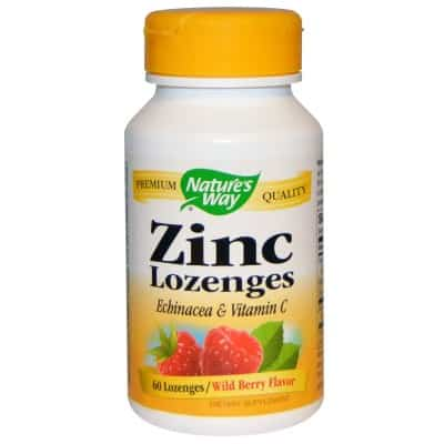 4. Nature's Way Lozenges Wild Berry