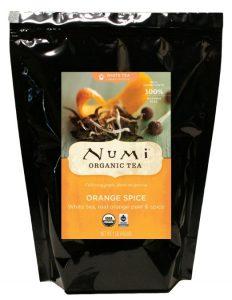 4. Numi Orange Spice