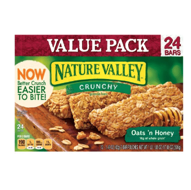 3. Nature Valley  Crunchy