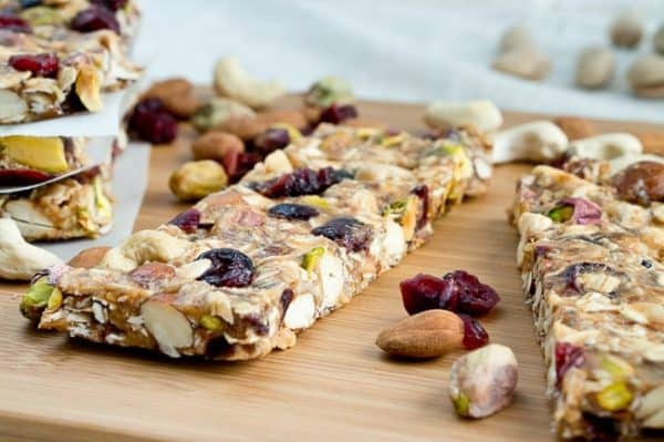 granola bars calories