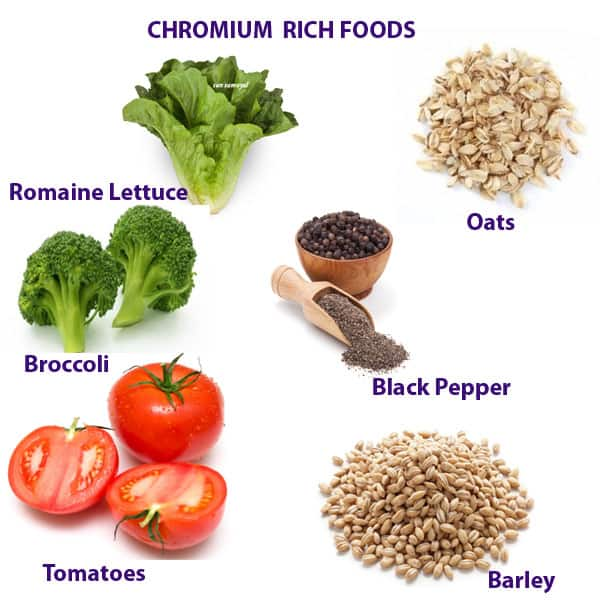 chromium rich food