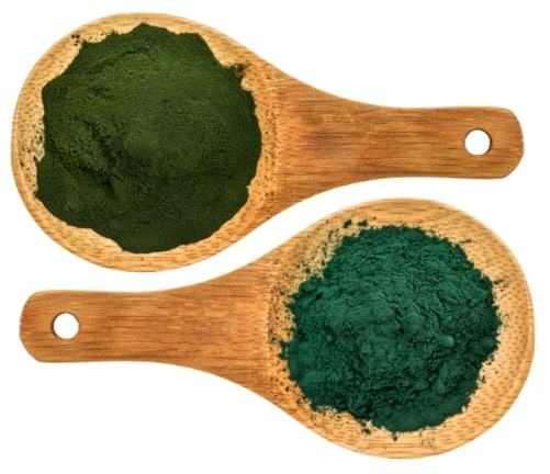 difference between chlorella and spirulina