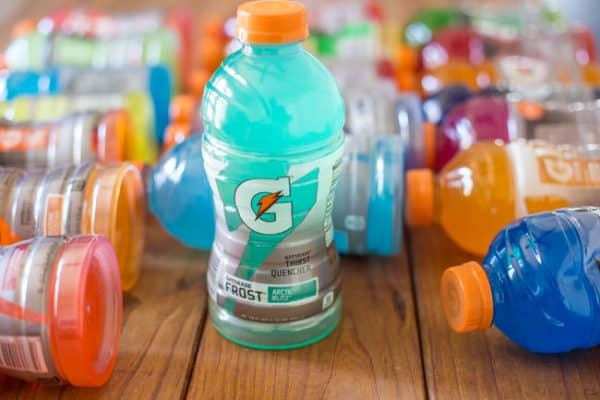 different types of sport drinks