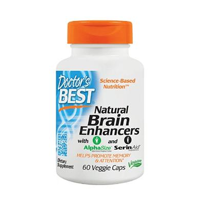 6. Doctor's Best Natural Brain Enhancers