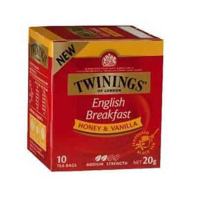 6. Twinnings English Breakfast