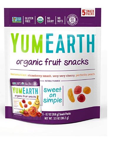 8. YumEarth Organic