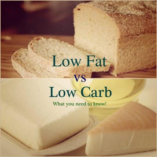 low fat or carb