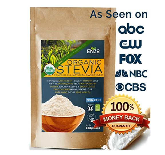 6. Organic Stevia