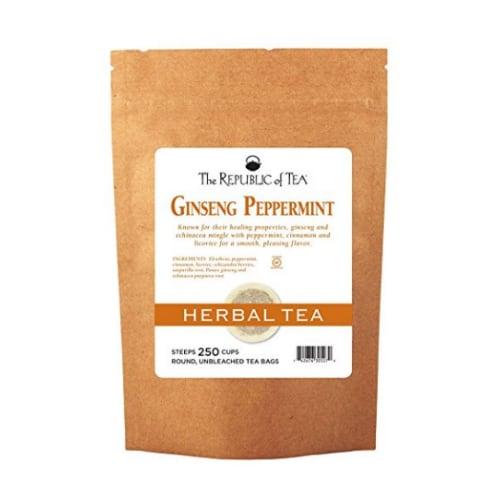 7. The Republic Of Tea Ginseng/Peppermint