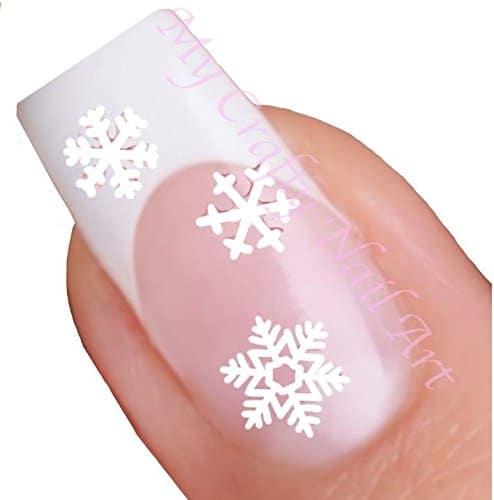 8. White Snowflake Art