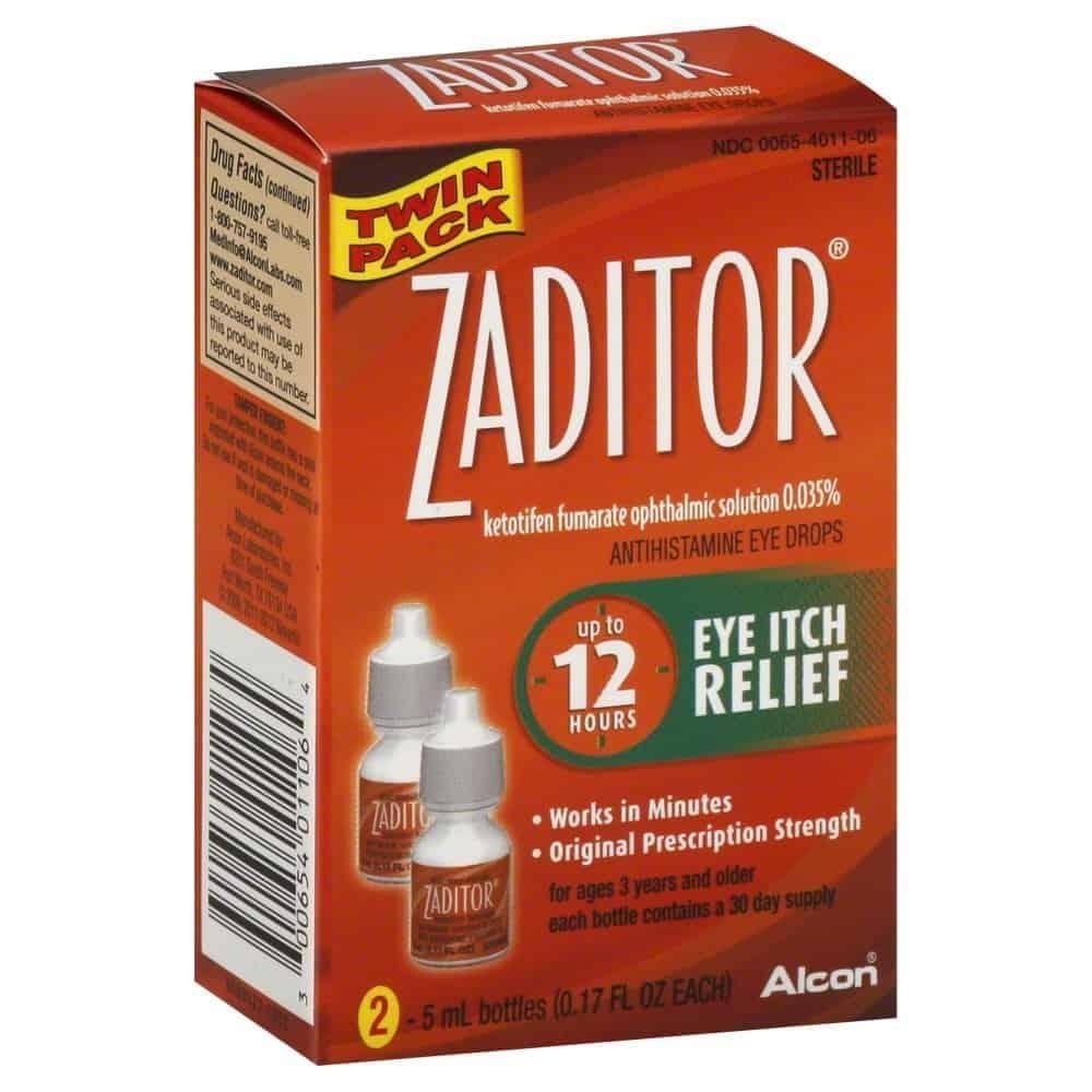6. Alcon Zaditor
