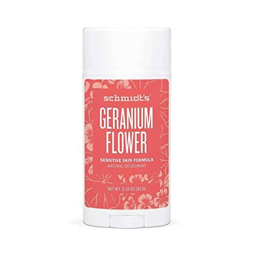 8. Geranium Flower Sensitive Skin