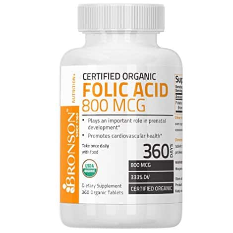 how to take folic acid supplements