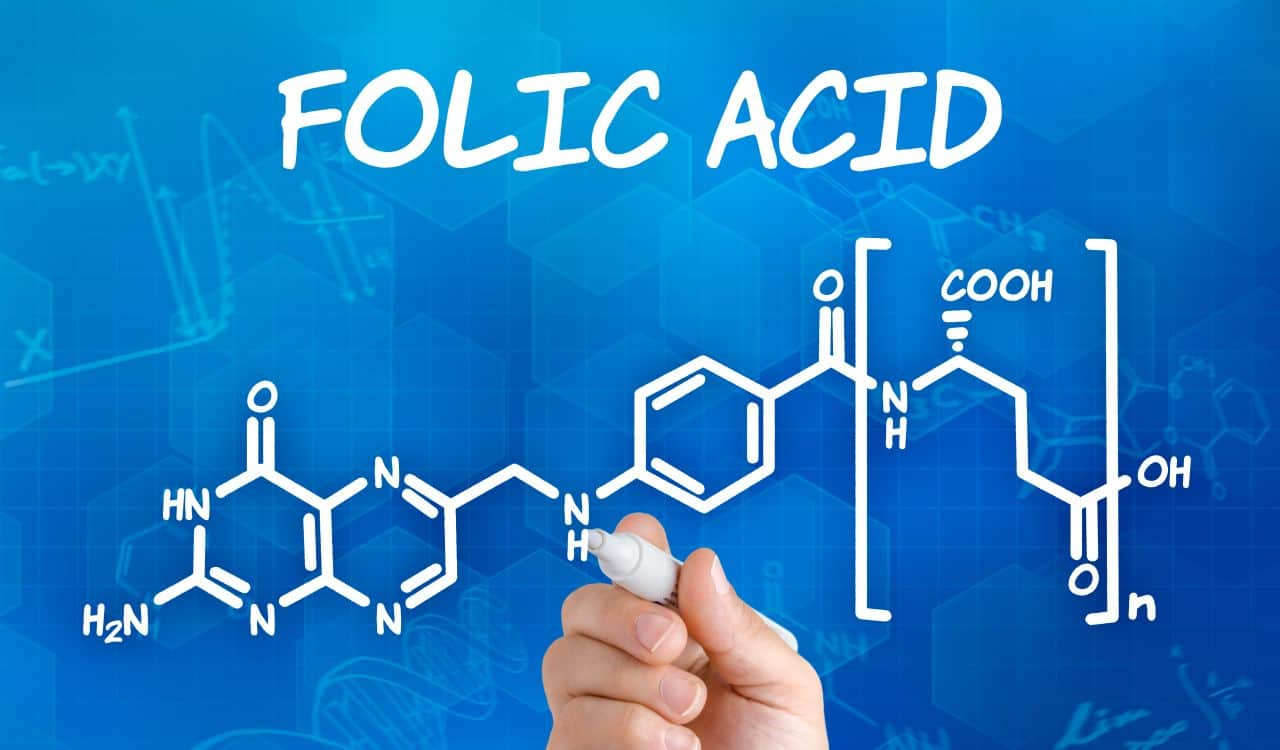 Chemical Formula of Folic Acid