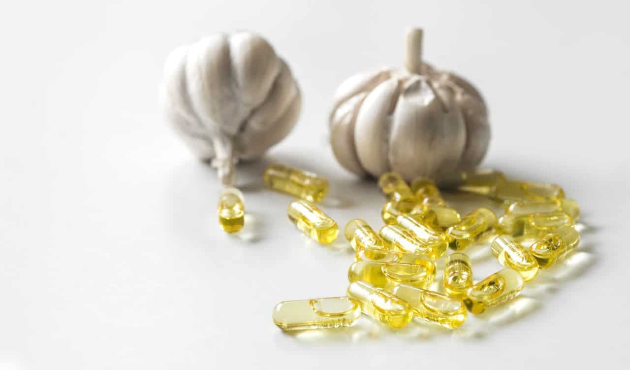 Garlic with Garlic Oil Capsules