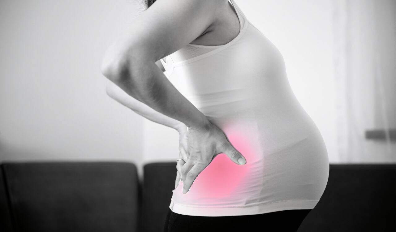 Pregnancy Puts Additional Pressure on a Womans Back