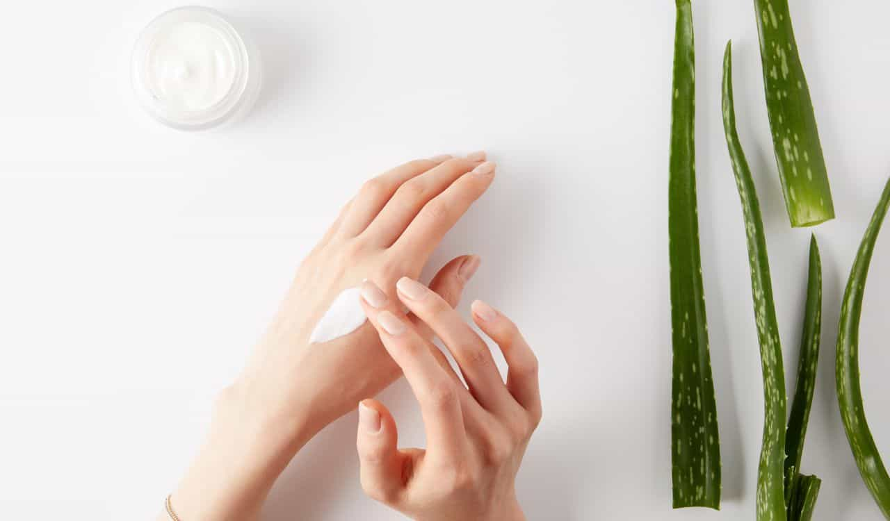Aloe Vera Products Protect Skin