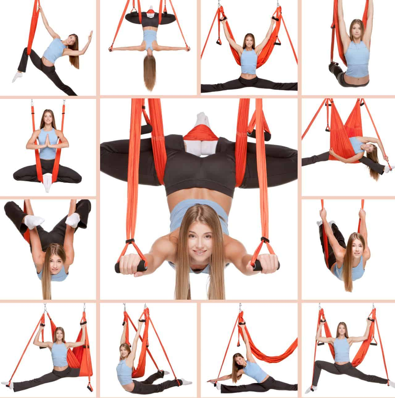 Different Poses on Inversion Swing
