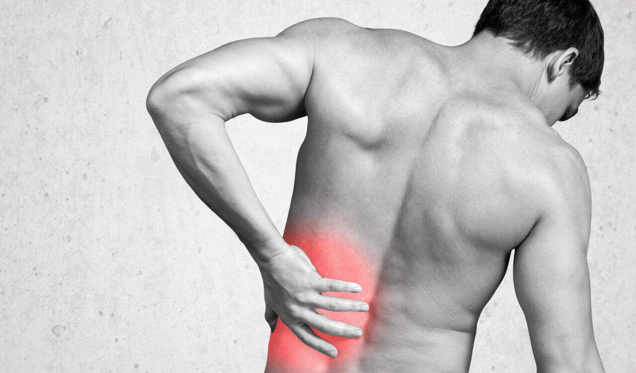 Man Suffer Back Pain