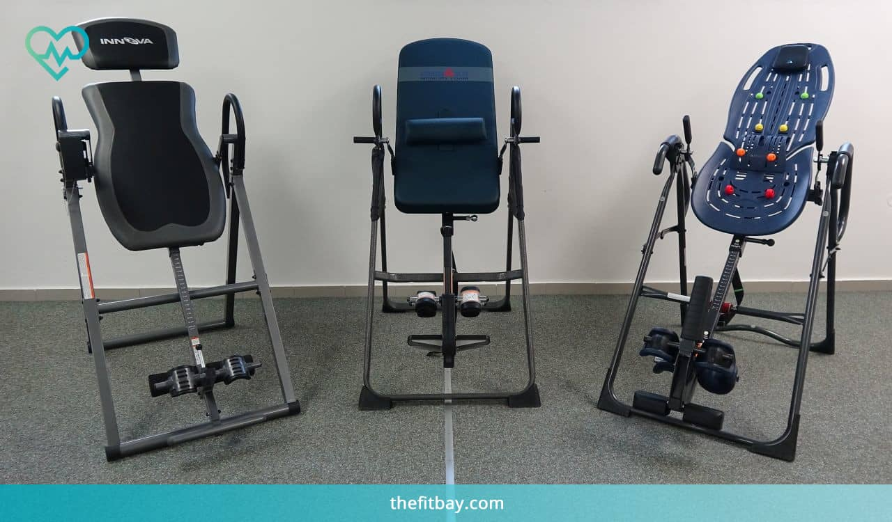 Innova, IRONMAN and Teeter Inversion Tables