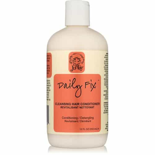 8. Curl Junkie Daily Fix Cleansing Conditioner