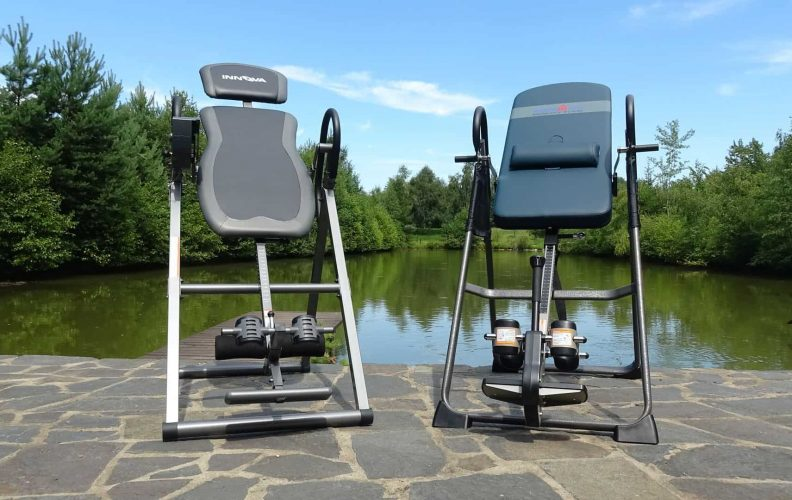 Ironman and Innova Inversion Tables