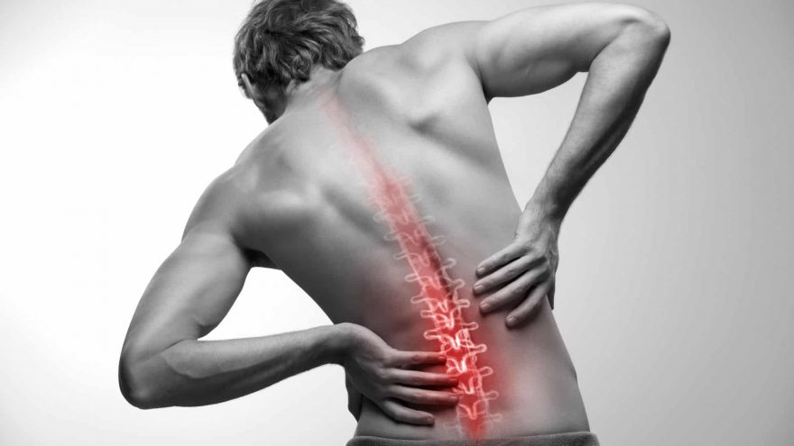 Man Suffering Back Pain