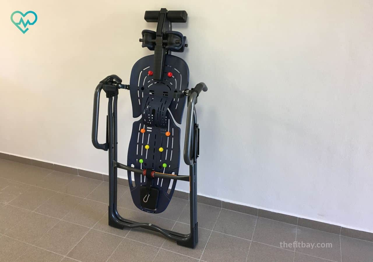Inversion with Teeter Inversion Table